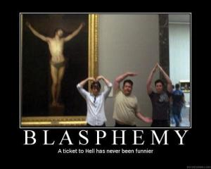 Hysterical! Blasphemous, but hysterical nontheless.